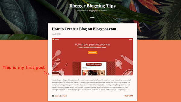 How to Start a Free Blog on Blogspot Image 15