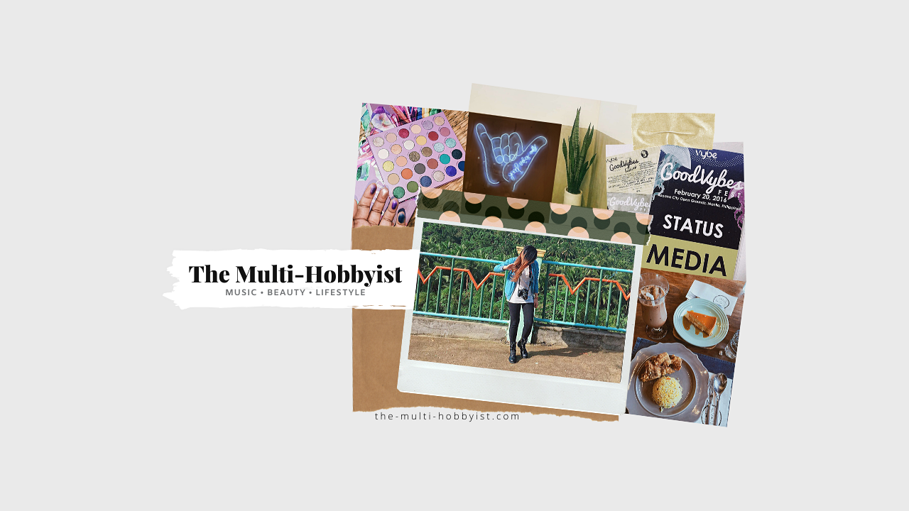 the-multi-hobbyist.com is a music, beauty, and lifestyle blog by Trina Domingo.