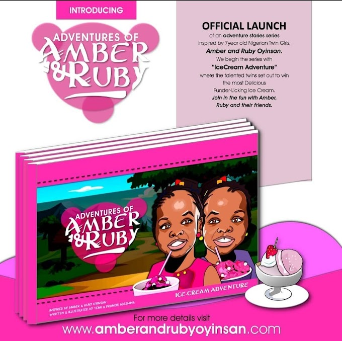 YouTube Child Star Authors Amber And Ruby Oyinsan Turn 8