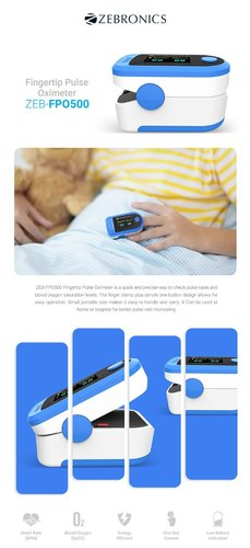 Hot New Business Idea Pulse Oximeter Reselling Wholesale Business - Zebronics Pulse Oximeter