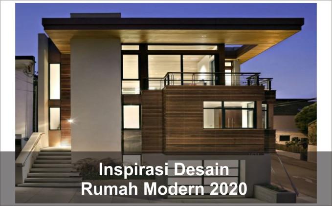 desain rumah modern 2020