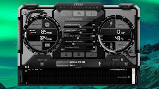 احدث برنامج لتسريع الالعاب MSI Afterburner 2020 ورفع كفاءة كارت الشاشة مجانا للكمبيوتر