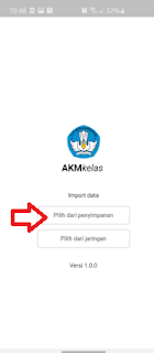 Import AKM Android