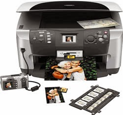 Download Epson Stylus Photo RX600 Printer Driver & instructions installing