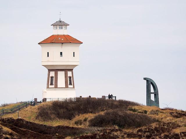Langeoog, Wasserturm, Nonnenrutsche, KIrche