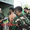 Danrem Djashar Pimpin Sidang Parade Calon Bintars TNI AD TA 2020 Sub Panda Bone