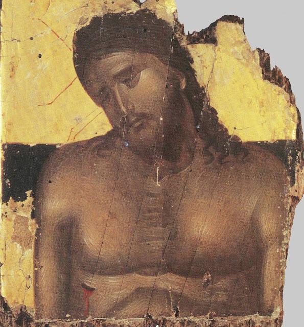Jesus Cristo e o seu lado transpassado