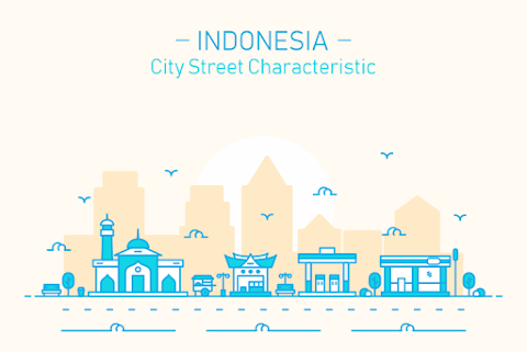 INDONESIA CITY STREET