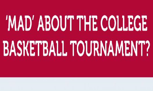 'Mad' About the College Basketball Tournament? #infographic
