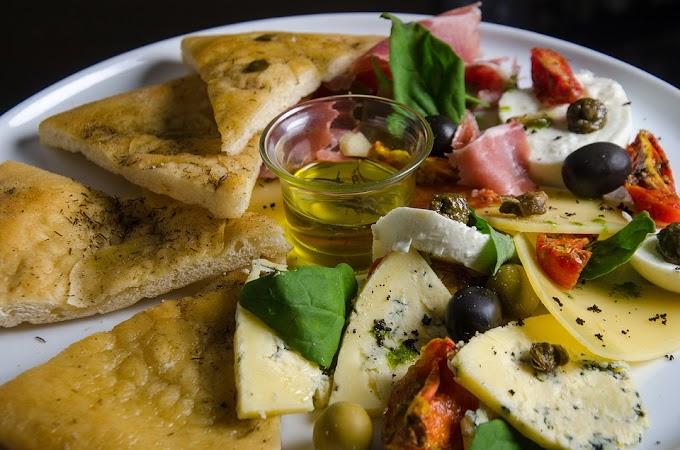 La focaccia de la cocina italiana