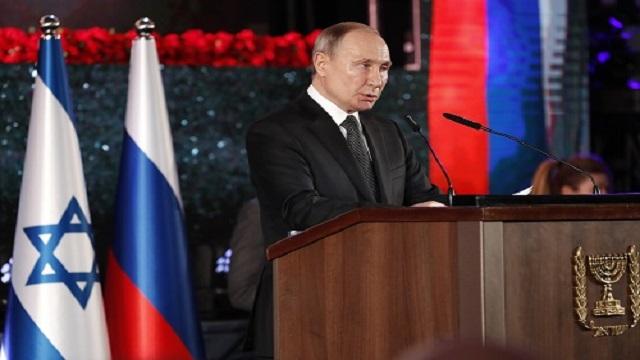 Κάλεσμα Πούτιν από τα Ιεροσόλυμα για «παγκόσμια ειρήνη»