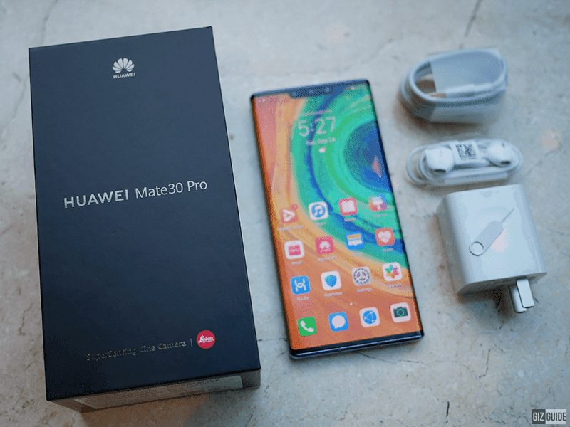 Huawei Philippines competitively prices Mate 30 and Mate 30 Pro monster phones