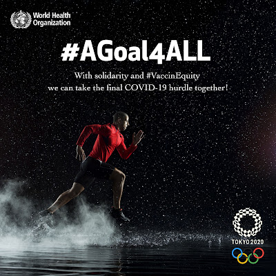 A Goal For All Vaccine Equity The World Health Organisation sprinter