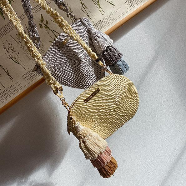 Bolsos cordón de seda de Olvido Madrid