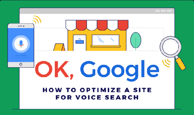 Optimize Your SIte for Voice Search #Infographic