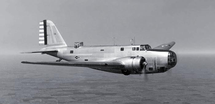 Airplanes In The Skies + Faf History Douglas B18 Bolo