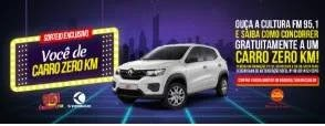 Promoção Cultura FM 2019 Você de Carro Zero KM - Automóvel Renault 0KM