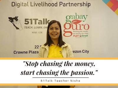 51Talk Teacher Nisha: Empowered Through Teaching English Online