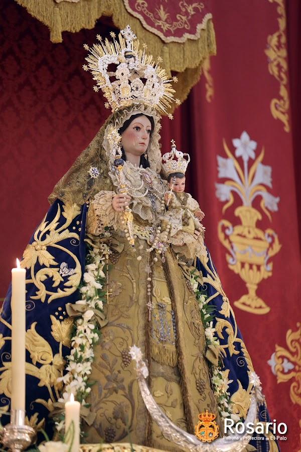 Suspensión de la Procesión de Nuestra Señora del Rosario de El Palo