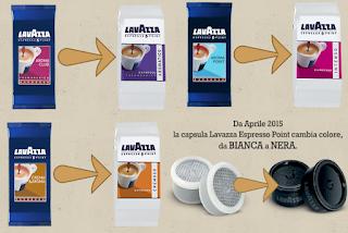 Cambi di immagine per Lavazza Espresso Point