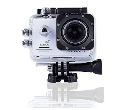 DBPOWER EX5000 WIFI 14MP FHD Sports Action Camera waterproof