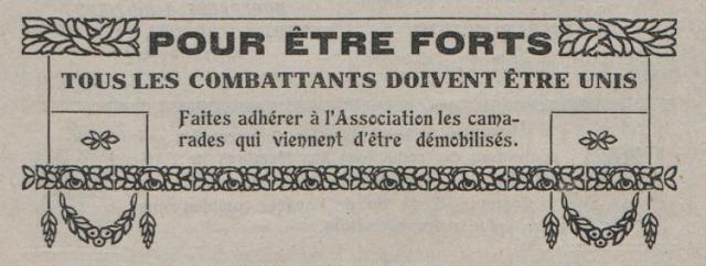 Bulletin des anciens combattants du Puy-de-Dôme