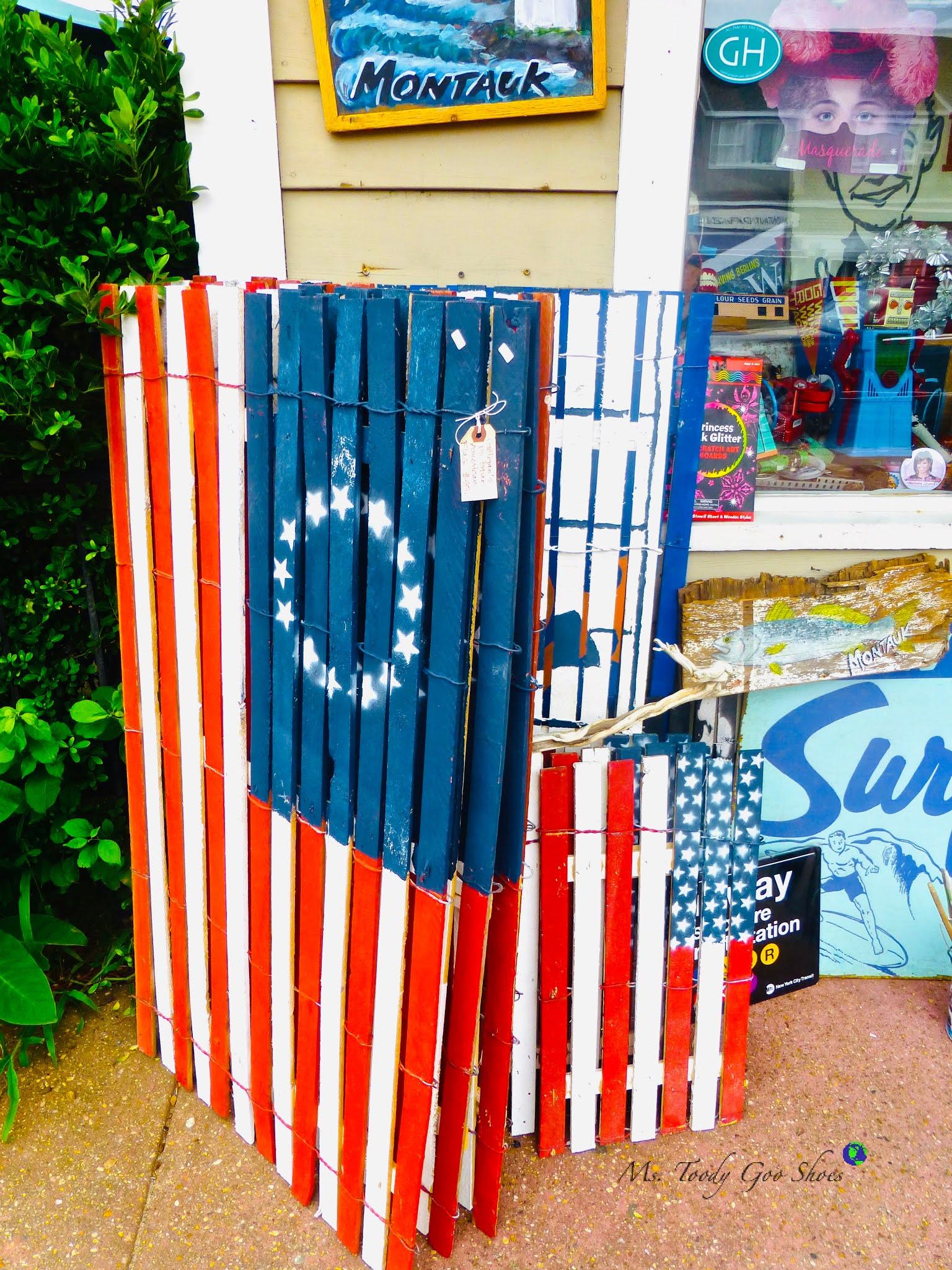 American Flags, Montauk, NY | Ms. Toody Goo Shoes