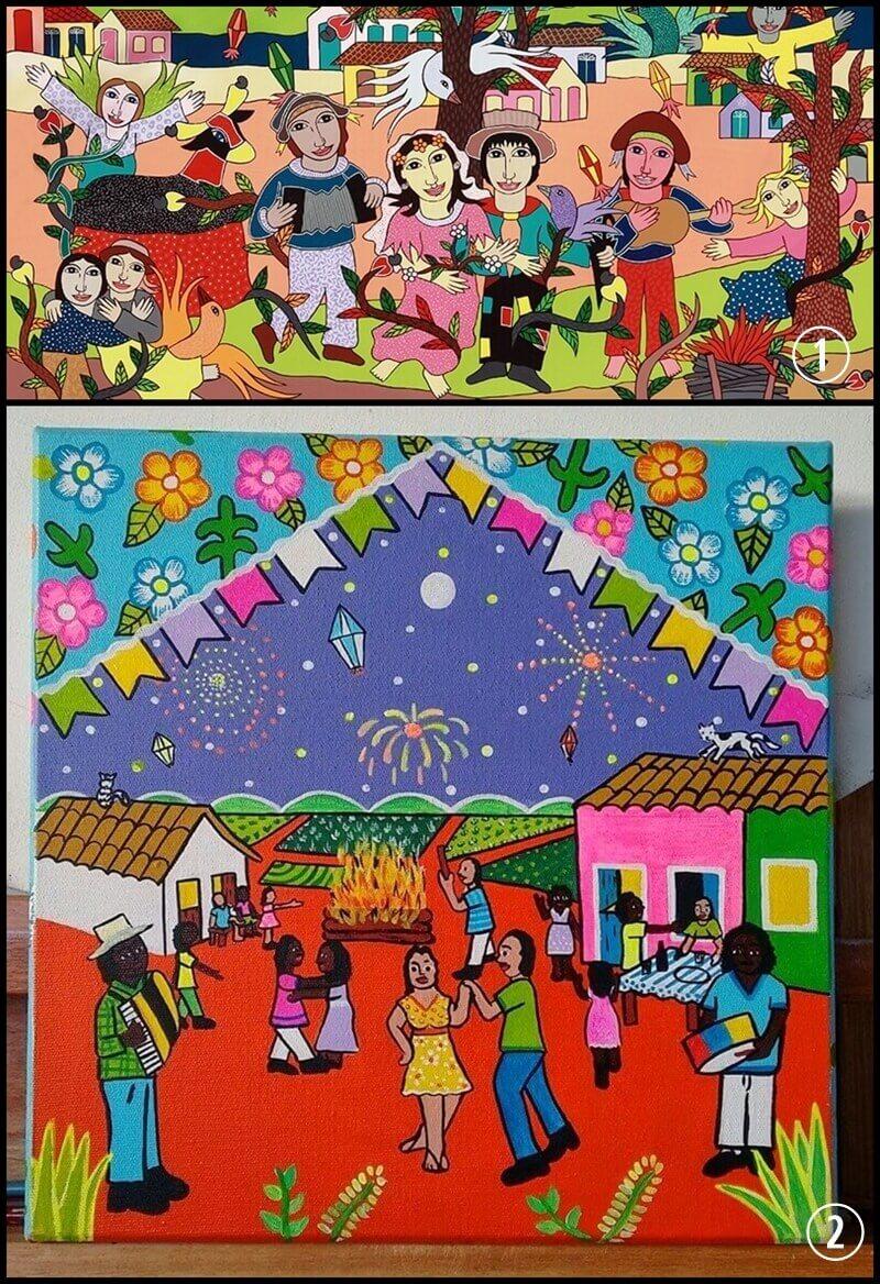 Artes plásticas e festa junina