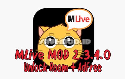 MLive MOD 2.3.4.0 APK Unlock Room + AdFree