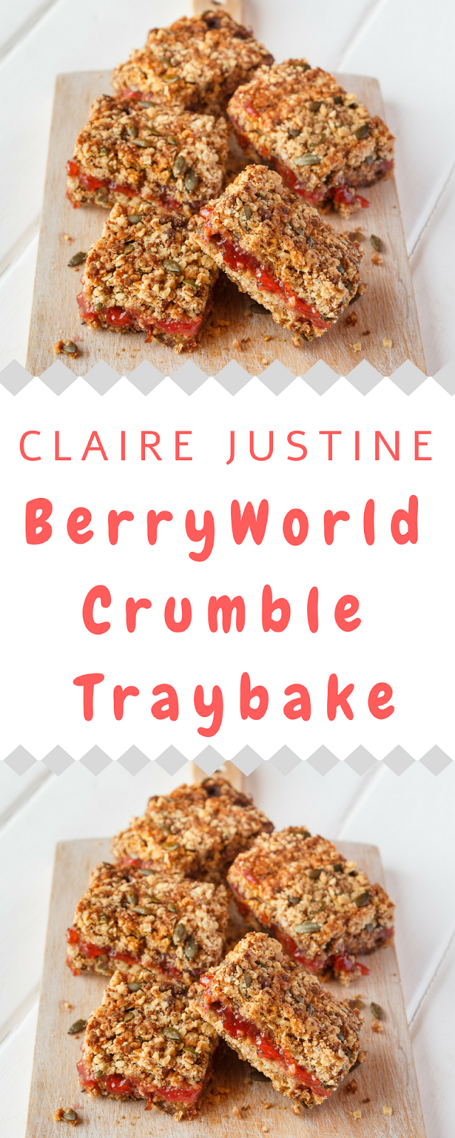 BerryWorld Crumble Traybake