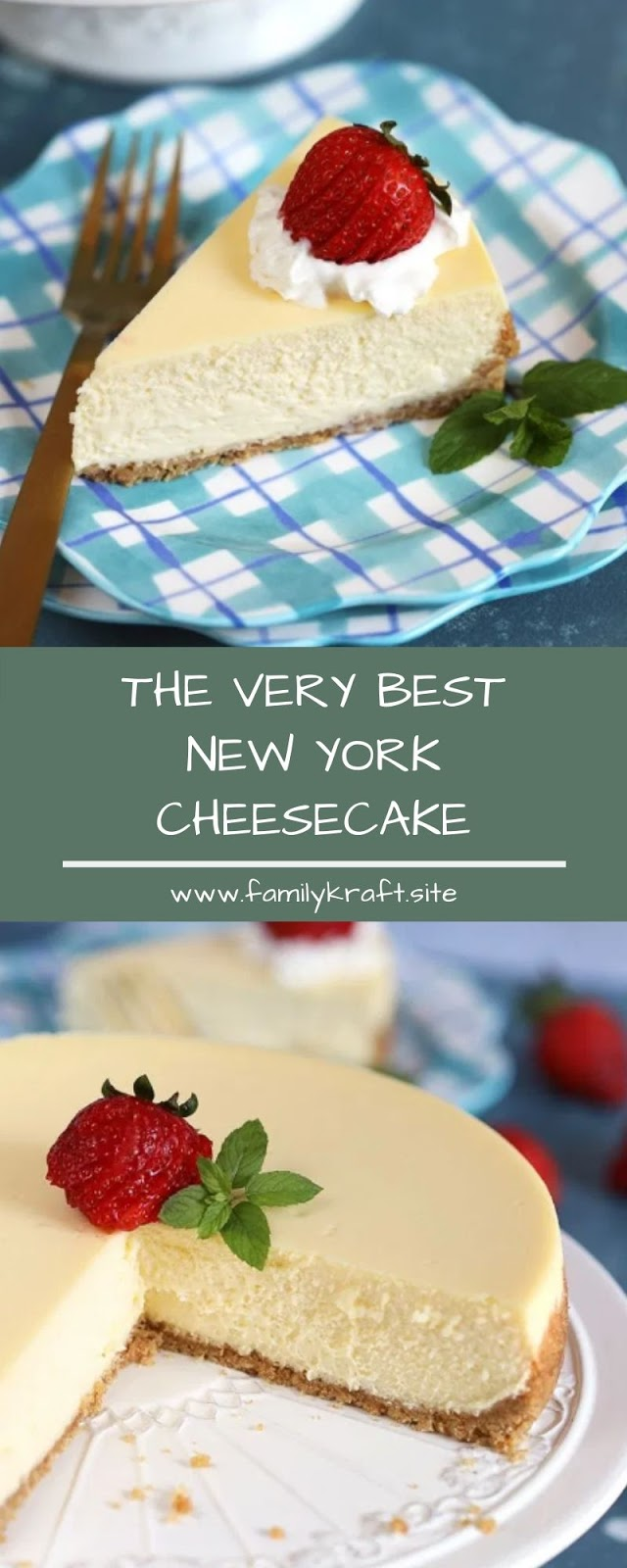 THE VERY BEST NEW YORK CHEESECAKE