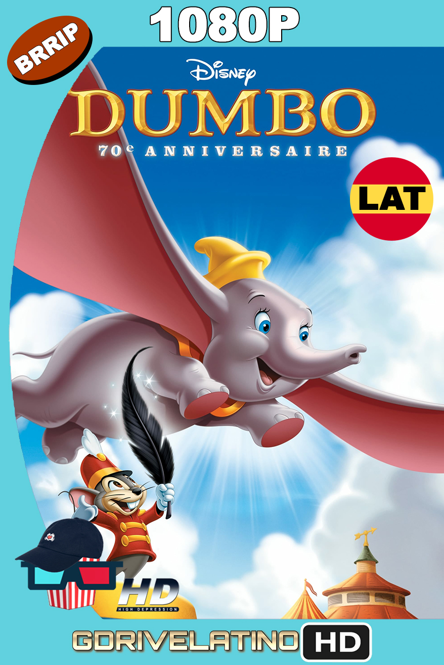Dumbo (1941) BRRip 1080p Latino-Ingles MKV