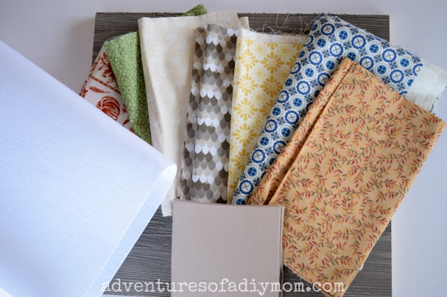 Supplies for Fabric Turkey Craft