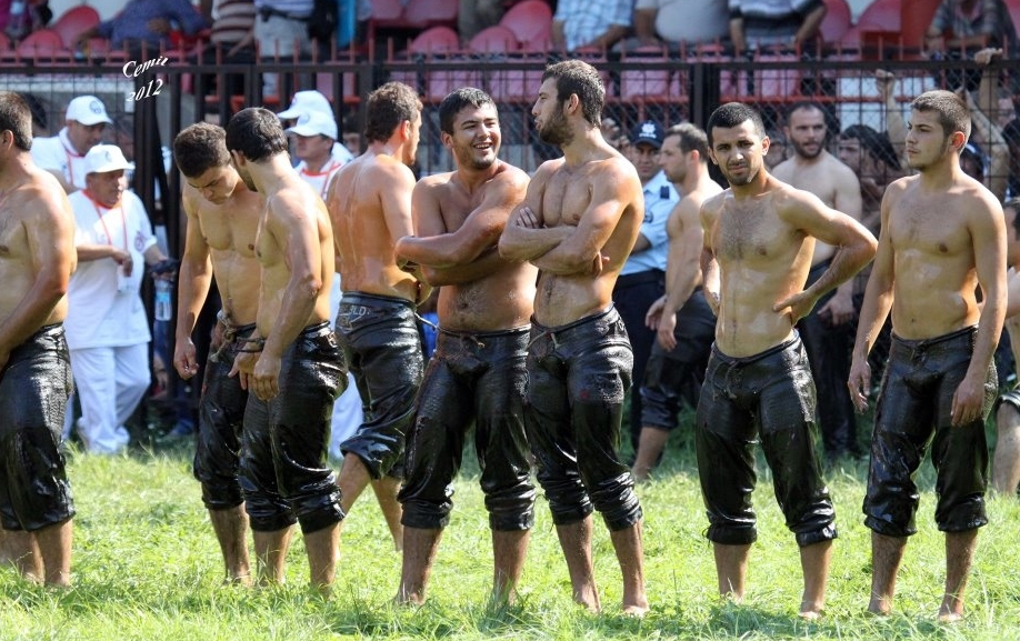 Oil Wrestling Tournament A 653 Year Old Turkey Traditional