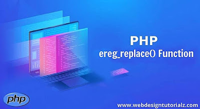 PHP ereg_replace() Function