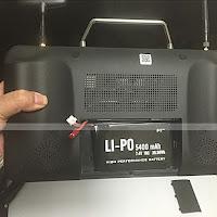 Hubsan H109S H7000 Transmitter Back