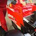 """GP SINGAPORE - FERRARI SF71H: ala posteriore con endplate """"forati"""""""