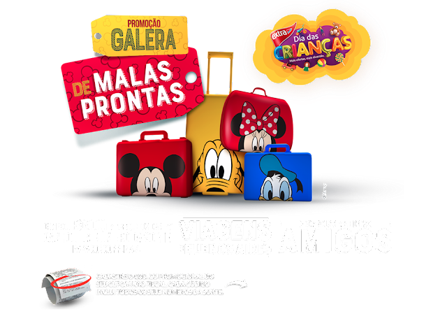 Extra traz ofertas e viagem para Buenos Aires  para  o Dia das Crianças,