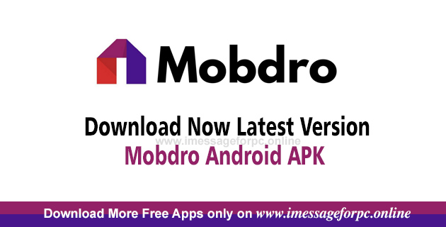 Mobdro APK File