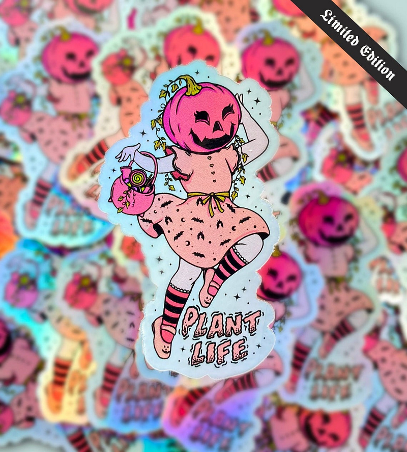 HeartStreet - Sundaze Store - Vegan Halloween Sticker