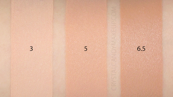 Giorgio Armani Power Fabric Longwear Foundation Swatches 3 5 6.5 MAC NW15 NW30 NW35