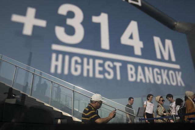 Mahanakhon Skywalk Highest observatory in Thailand