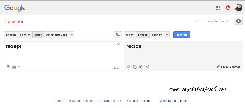 Resepi vs Resipi : mana satu ejaan yang betul?