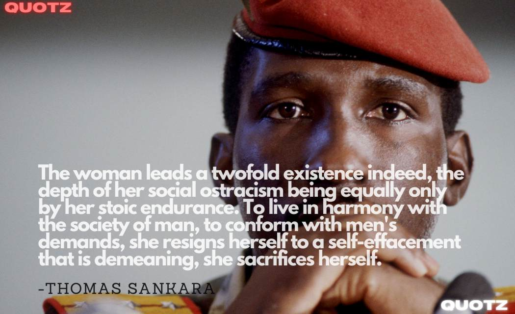 Best 20+ Quotes By Thomas Sankara with Quotes Images.