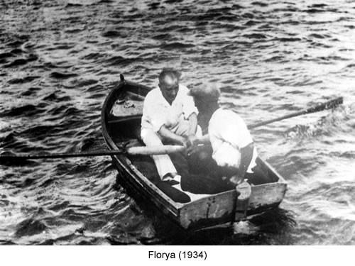 Atatürk Florya 1934 Fotoğraf