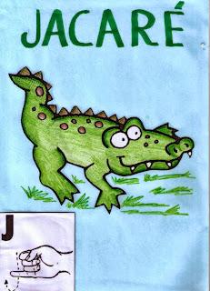 alfabeto libras para imprimir j