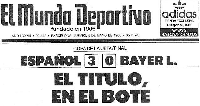 Espanyol 3-0 Leverkusen