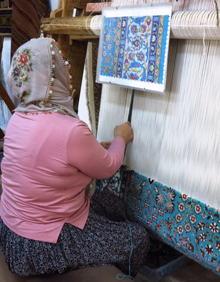 Ing A Turkish Carpet Rug