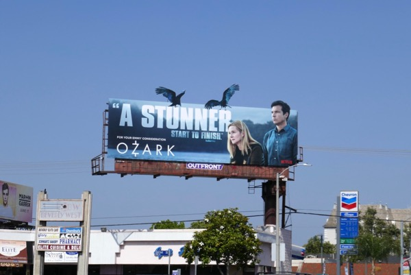 Ozark 2018 Emmy FYC extension billboard