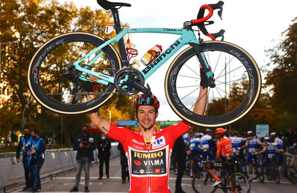 Héroes de la Vuelta a España: Primoz Roglic